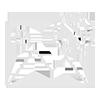 HARIBO STICKS TUTTI ACIDO 12X80GR